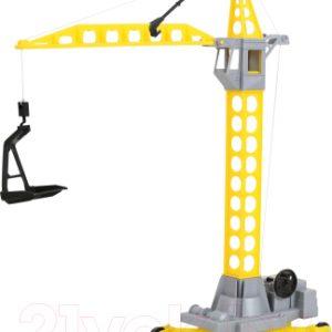 Кран игрушечный Полесье Агат на колесиках малый / 56429