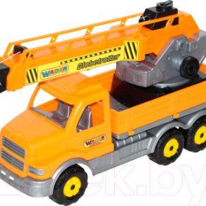 Кран игрушечный Полесье Кран с поворотной платформой Сталкер  / 56511
