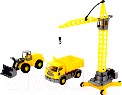 Набор игрушечных автомобилей Полесье Агат / 57150