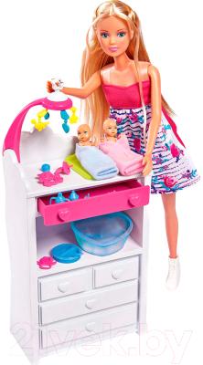Кукла с аксессуарами Simba Штеффи беременная двойняшками / 5733333