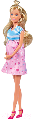 Кукла с аксессуарами Simba Штеффи в ожидании малыша / 5733388