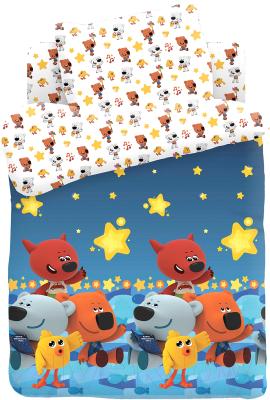 Комплект постельный в кроватку Непоседа Ми-ми-мишки. Ночное небо / 585889