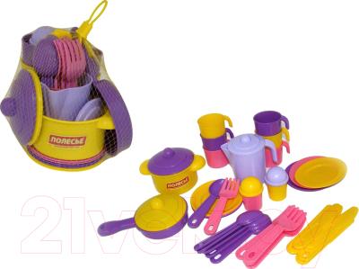 Набор игрушечной посуды Полесье Настенька / 59954