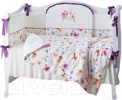 Комплект постельный в кроватку Perina Акварель / АВ6-01.3