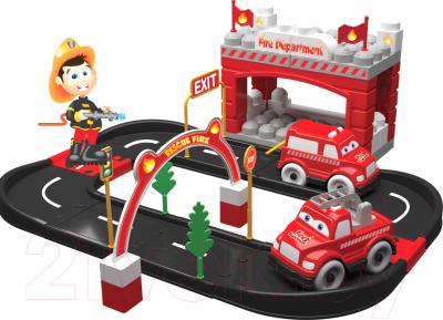 Автотрек Terides Пожарная станция / Т6-094