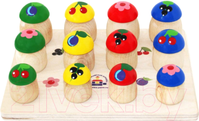 Развивающая игрушка Краснокамская игрушка Грибочки / Н-60