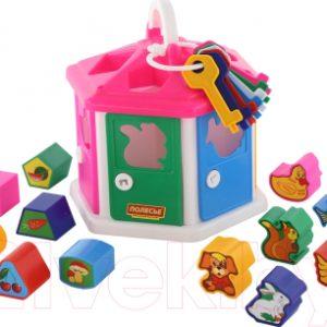 Развивающая игрушка Полесье Логический домик / 6196