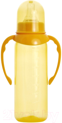 Бутылочка для кормления Пома С силиконовой соской 6+ / 4710