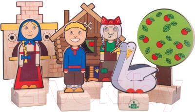 Развивающая игрушка Краснокамская игрушка Гуси-лебеди / Н-64