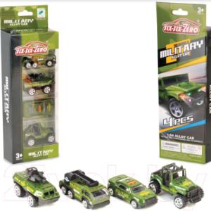 Набор игрушечных автомобилей Six-Six Zero Машины / 660-A133