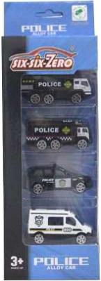 Набор игрушечных автомобилей Six-Six Zero 660-A158