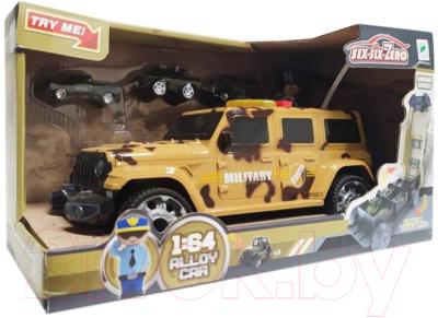 Набор игрушечных автомобилей Six-Six Zero Внедорожник / 660-A257