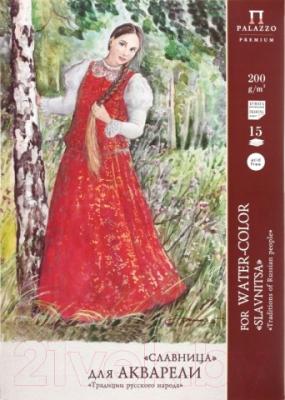 Набор бумаги для рисования Лилия Холдинг Славница П-6778