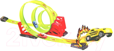 Автотрек гоночный Haiyuanquan Тройная петля / 68803