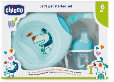 Набор детской посуды Chicco 6+