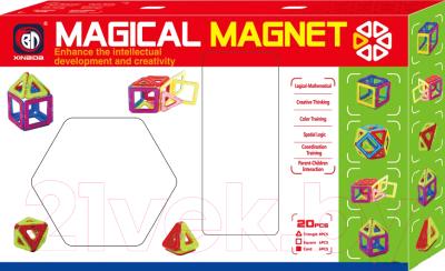Конструктор магнитный Haiyuanquan Магнитный конструктор 701