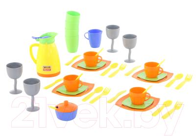 Набор игрушечной посуды Полесье Праздничный / 71514