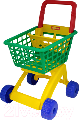 Тележка игрушечная Полесье Для маркета / 7438