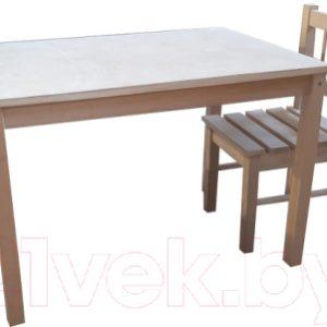 Комплект мебели с детским столом ВудГрупп 75x50x50 и 1 стульчиком