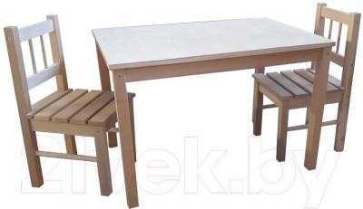 Комплект мебели с детским столом ВудГрупп 75x50x50