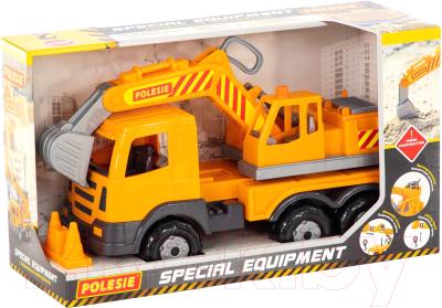 Экскаватор игрушечный Полесье Престиж / 76052