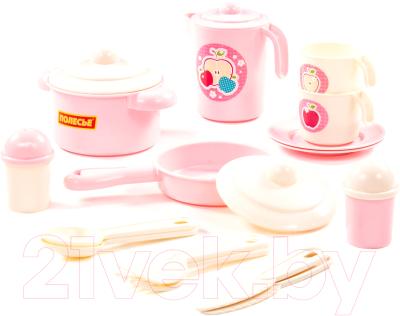 Набор игрушечной посуды Полесье Настенька / 79923