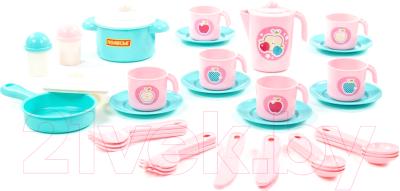 Набор игрушечной посуды Полесье Настенька / 79961