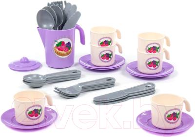 Набор игрушечной посуды Полесье Анюта / 80080