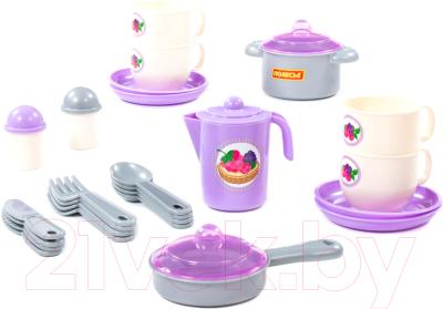 Набор игрушечной посуды Полесье Хозяюшка / 80134
