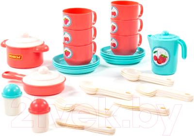 Набор игрушечной посуды Полесье Хозяюшка / 80158