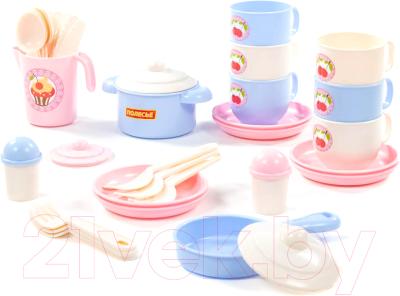 Набор игрушечной посуды Полесье Хозяюшка / 80165