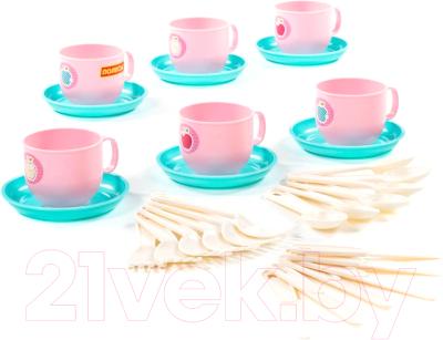 Набор игрушечной посуды Полесье Минутка / 80288