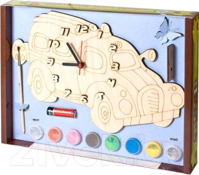 Набор для творчества Нескучные игры Машинка. Часы с циферблатом / 8030