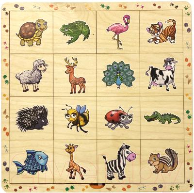 Развивающая игра Нескучные игры В мире животных / 8190