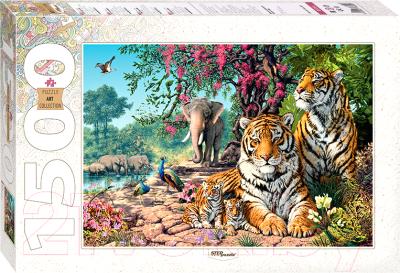 Пазл Step Puzzle Тигры / 83054