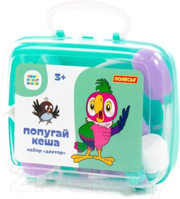 Набор доктора детский Полесье Попугай Кеша. Доктор / 83340