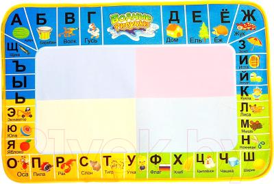 Развивающий коврик Zabiaka Азбука: рисуем водой с маркером / 845194
