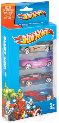 Набор игрушечных автомобилей Six-Six Zero 8615