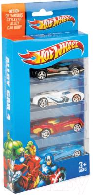 Набор игрушечных автомобилей Six-Six Zero 8616