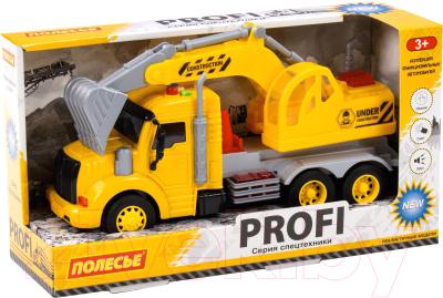 Экскаватор игрушечный Полесье Профи / 86440