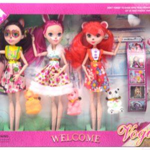 Набор кукол Ausini 872
