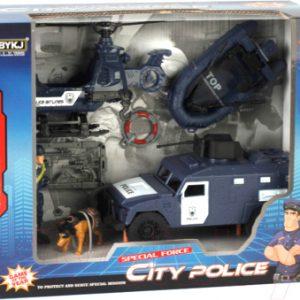 Набор игрушечной техники Maya Toys Полицейская служба / 8836B