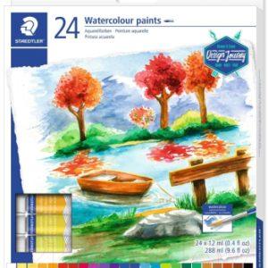 Акварельные краски Staedtler 8880 C24