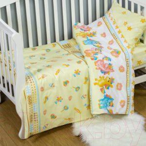 Комплект постельный в кроватку АртПостель Карамельки 922