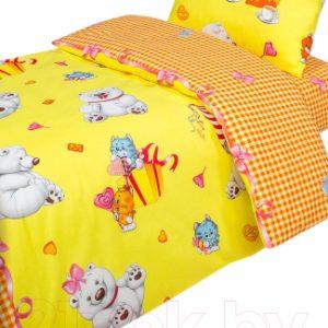 Комплект постельный в кроватку АртПостель День рождения 922