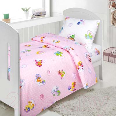 Комплект постельный в кроватку АртПостель Бусинка 922
