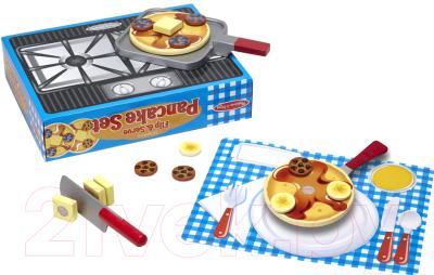 Набор игрушечных продуктов Melissa & Doug Набор блинчиков / 9342