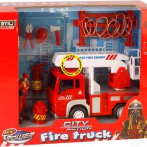 Набор игрушечной техники Maya Toys Пожарная служба / 9935A