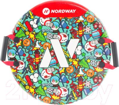 Санки-ледянка Nordway 9C76PDS9HB / A20ENDSS005-MX