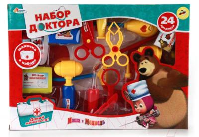 Набор доктора детский Играем вместе Маша и Медведь / A373-H34024-R